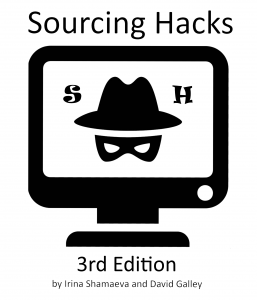 Sourcing Hacks 3rd Edition ebook cover